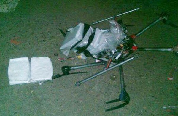 drone and meth cargo