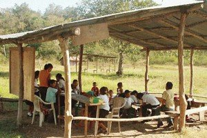rural school in mexico