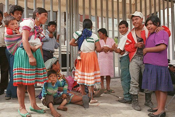 indigenous people jailed in mexico