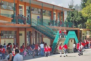 A school in Veracruz