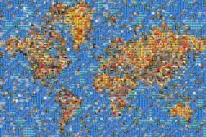 world mosaic