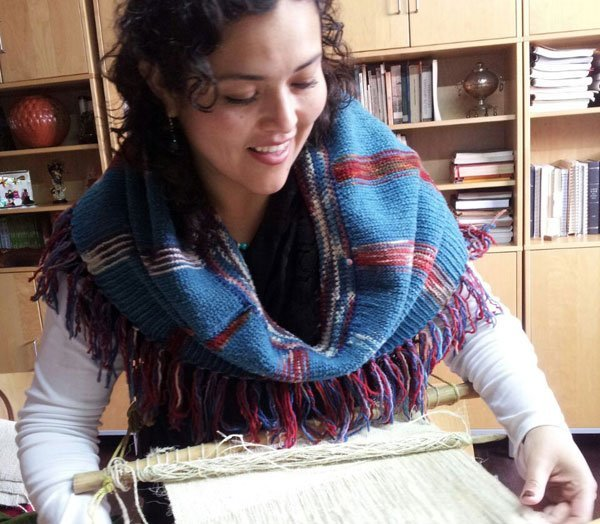 Ana Celia Martínez, expert in Mexican textiles.
