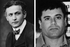 harry houdini and el chapo guzman
