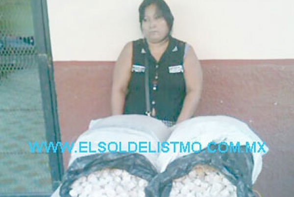 The Oaxaca woman and her 2,000 turtle eggs.
