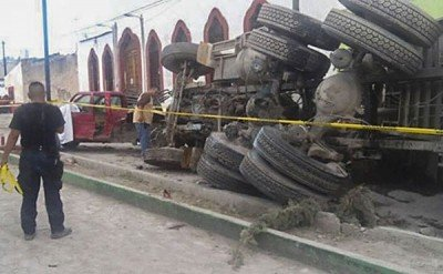 The truck that killed 27 in Mazapil