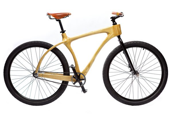 The Biciwood, a smart bike made from bamboo.