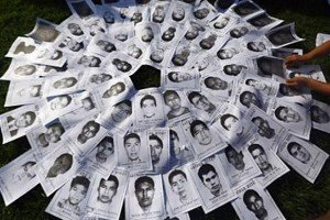 Images of the missing.