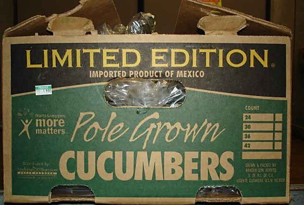 The cucumber brand linked to salmonella outbreak.