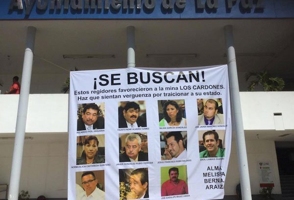 Wanted: the councilors who voted to allow the Los Cardones mine to proceed.