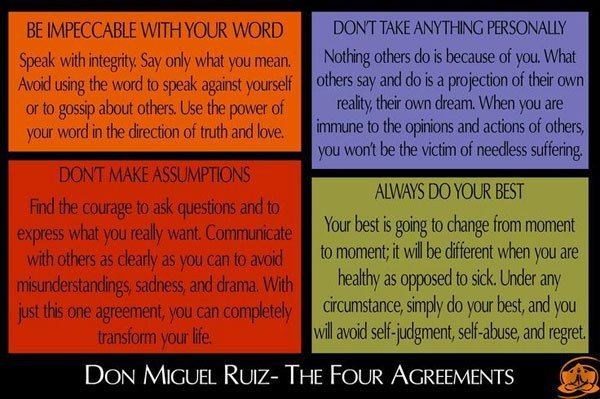 Observations on meaningless words and issues of context the four agreements platinumwayz