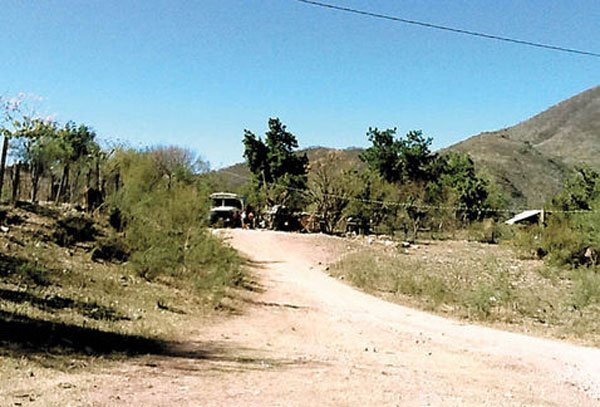 The Guzmán ranch seized by the Navy.