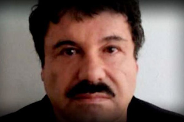 El Chapo: back behind bars.