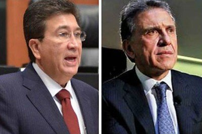 Yunes and Yunes: Héctor, left, and Miguel Ángel.