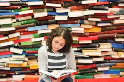 mexican girl reading
