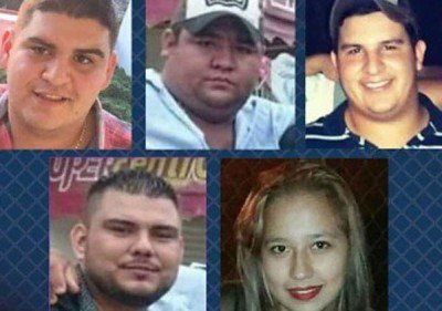 The five who disappeared in Tierra Blanca.