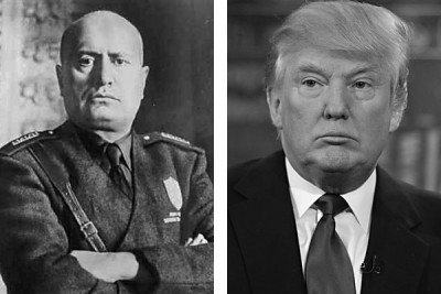 mussolini and trump