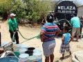 Many Chiapas residents are relying on tankers for their water supply.