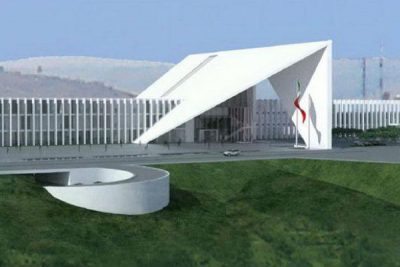Artist's conception of Guanajuato's new Congress building.