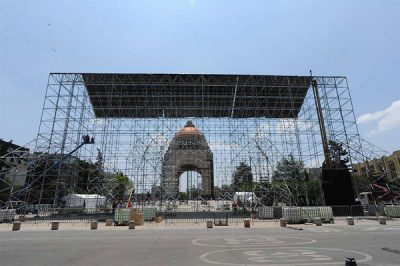 Another Sistine Chapel rises in Mexico City.