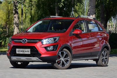 BAIC's X25 sport-utility vehicle.