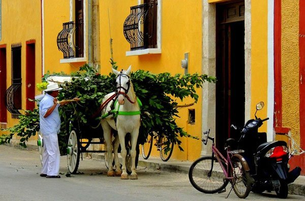 Izamal, magical town.