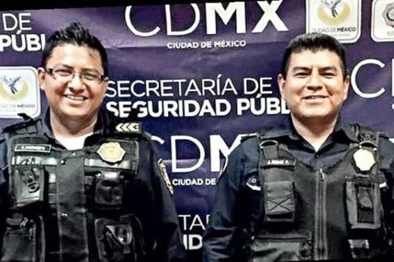 Officers Rosas and Ramírez, tacos police.