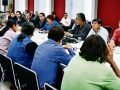 Working group meeting: nothing accomplished, says union.