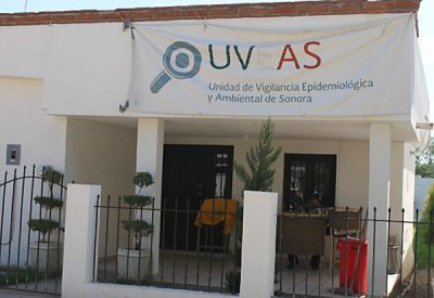 The UVEAS clinic in Ures, Sonora.