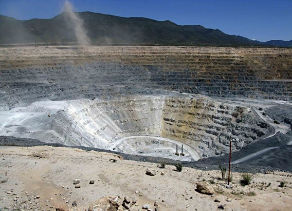 Goldcorp's mine in Mazapil.