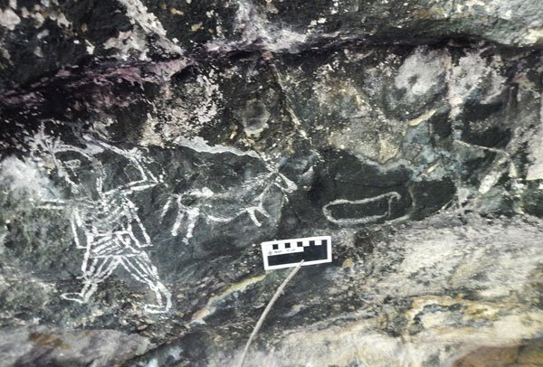 Paintings discovered in Guerrero