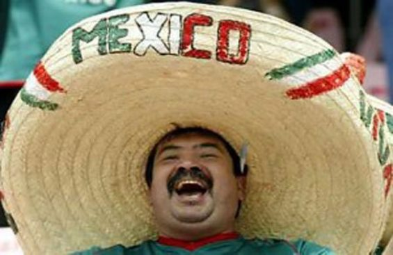 Mexicans are a happy lot.