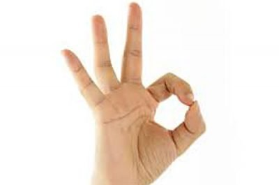 Hand gestures: careful with this one.
