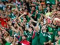 Mexican soccer fans give their controversial chant.