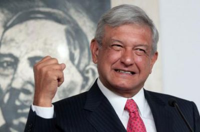 Amlo: voters might make a left turn in 2018.