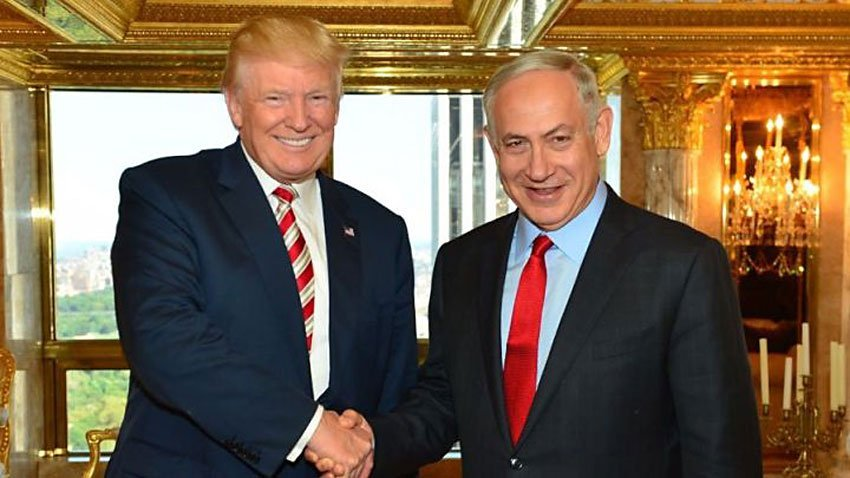 Trump and Netanyahu.