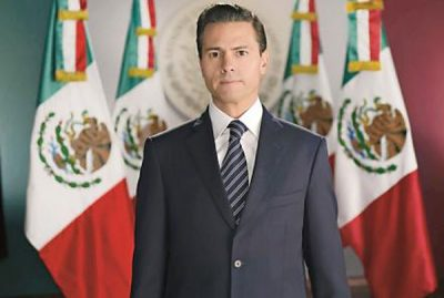 EPN: It was Calderón's fault.