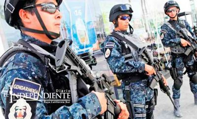 Gendarmerie are patrolling Los Cabos thanks to support from the private sector.