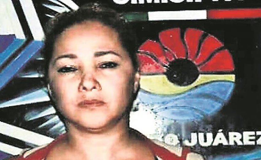 Doña Lety, police officer turned cartel boss.