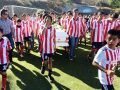 Soccer team mourns the death of a teammate.