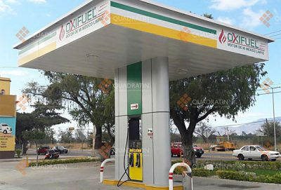 An Oxifuel station: sold out in Tlaxcala.