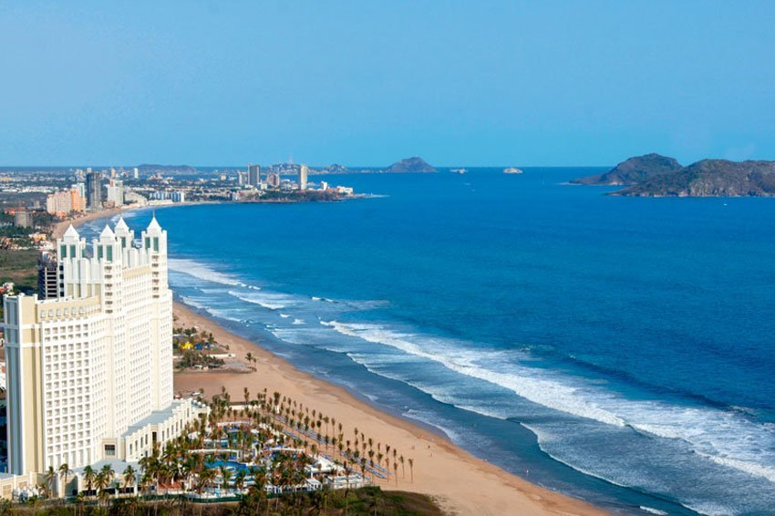 Mazatlán: it can get toasty in summer.