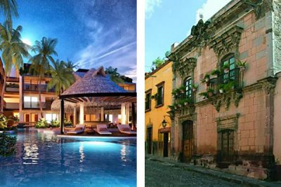 Properties in the Maya Riviera, left, and San Miguel are popular among prospective American buyers.