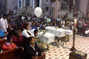 Yesterday's funeral in San Miguel