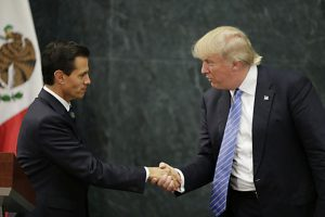 President Peña Nieto's invitation for Donald Trump to visit Mexico in August offended 74% of Mexicans, according to polls.