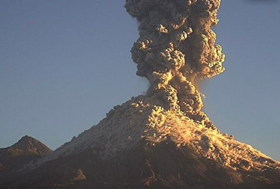 more colima volcano activity captured in video