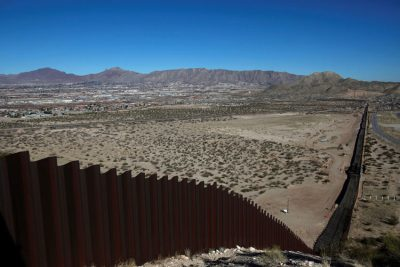 Existing border wall is about to get longer.