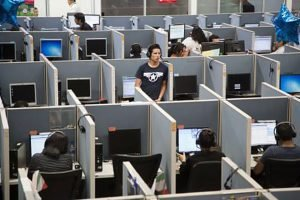 Call centers are hiring.