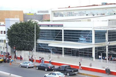 The hospital where José Carmen almost died.