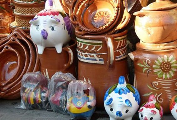 Mexican pottery: beware the lead