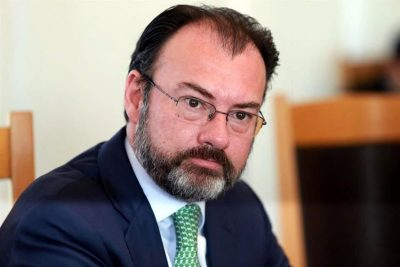 Videgaray: helped modify speech?